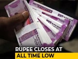 Video : Rupee Closes At Life-Time Low Of 69.05 Against Dollar