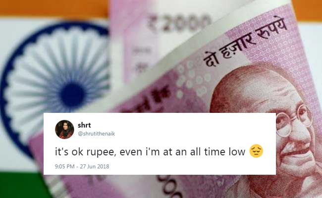 Rupee Falls To All-Time Low, But These Jokes Are Peak Twitter