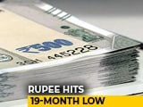 Video : Rupee Nosedives To 19-Month Low Against US Dollar