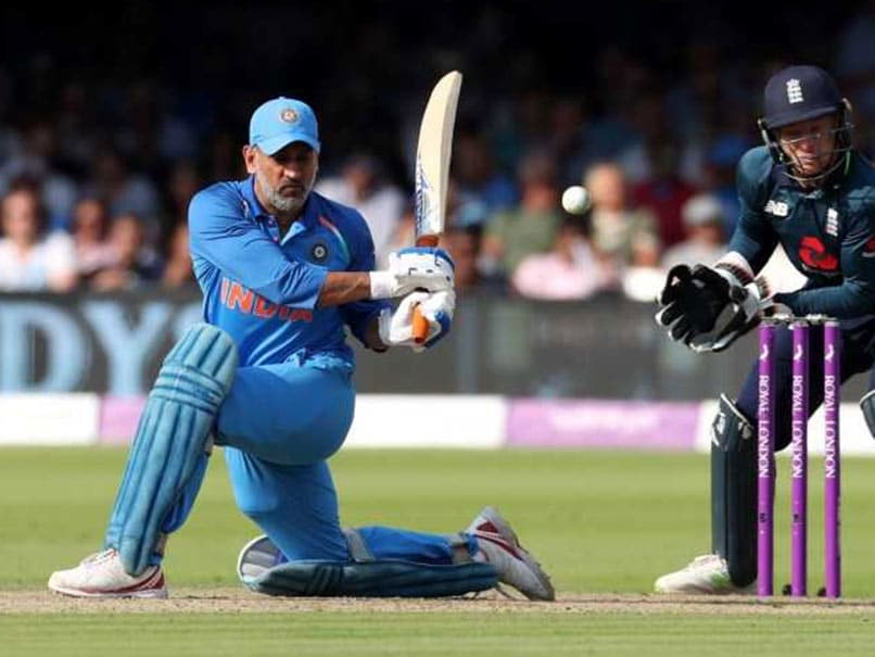 MS Dhoni at lords in 2018
