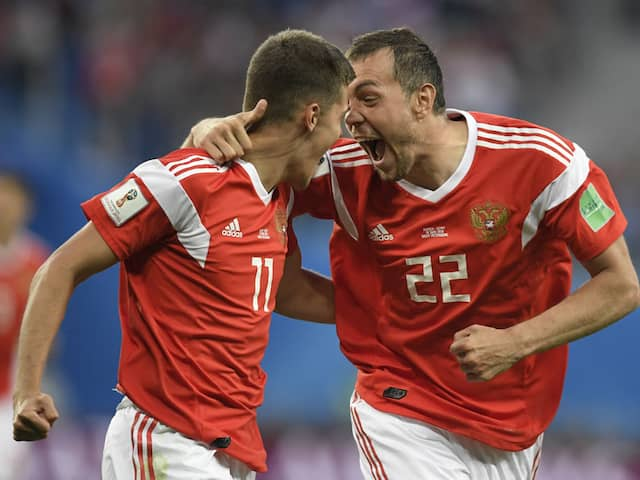 2018 World Cup: Russia Sour Mohamed Salahs Return To Close In On Last 16