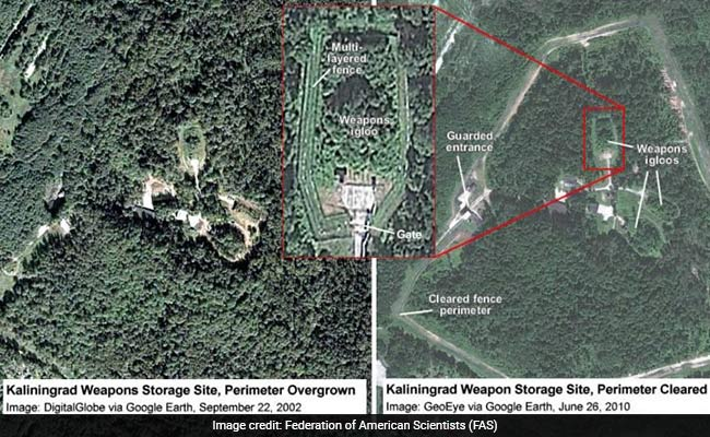 Russia may have upgraded nuclear bunker in Kaliningrad, report says