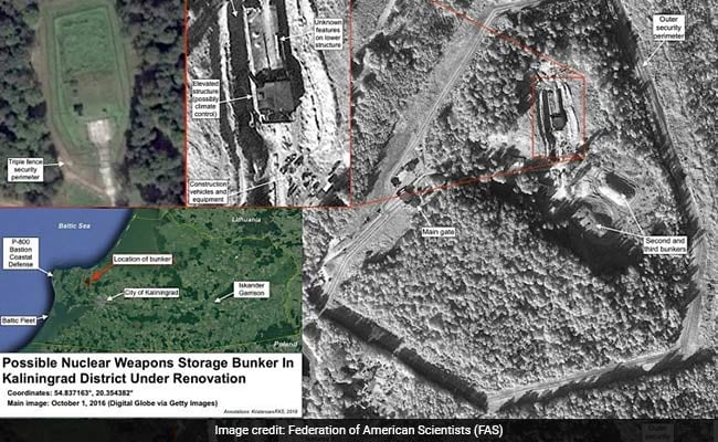 Satellite Images Appear to Show Russia Upgrading Nuclear Weapons Bunker