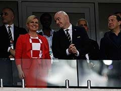 World Cup 2018: Croatian President Celebrates Wildly, Russian PM Isn