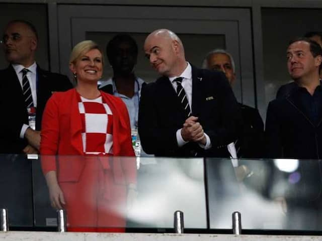 World Cup 2018: Croatian President Celebrates Wildly, Russian PM Isnt Amused