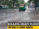 Video : After Heavy Rain In Kolkata, People Face Tough Time Going To Work