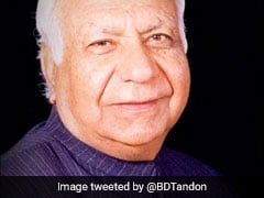 छत्तीसगढ़ के राज्यपाल बलरामजी दास टंडन का 90 साल की उम्र में निधन