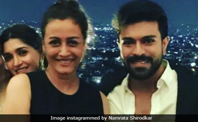 Namrata Shirodkar Parties With Ram Charan At Shirya And Anindith's Post-Wedding Bash
