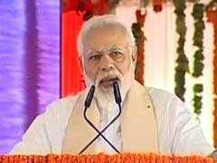 मिर्जापुर में बोले पीएम मोदी: पिछली सरकारों की वजह से 300 करोड़ की योजना में लगे साढ़े तीन हजार करोड़ रुपये