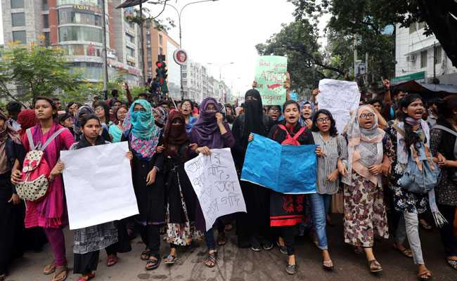 Amid Protests, Bangladesh Arrests 23 For Allegedly Spreading Rumours
