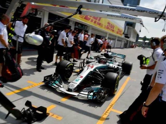 Mercedes Work Night Shift To Solve Lewis Hamilton Worries