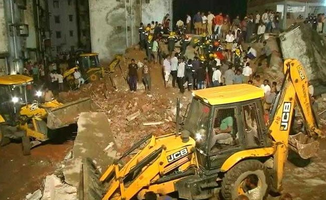 4 Rescued, Many Trapped After Decades-Old Buildings Collapse In Ahmedabad