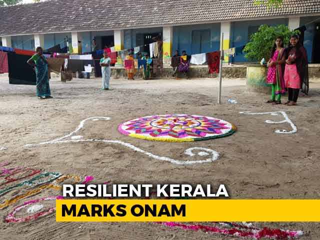 Video: Onam Brings Cheer In Flood-Battered Kerala's Relief Camps