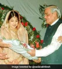 Akhilesh Yadav Shares Wedding Photo As He Remembers Atal Bihari Vajpayee