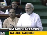 "Video : ""Why The Hurry For Power?"" Says PM In Dig At Rahul Gandhi"