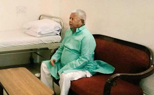 Lalu Prasad Has Infection In Lungs, Condition Stable: Doctor