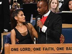 """Maybe I Was Too Friendly"": Bishop On ""Groping"" Ariana Grande At Funeral"