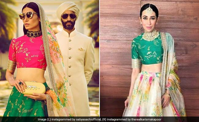 Sabyasachi Mukherjee Redefines His Bridal Collection, Goes For Colour Pop