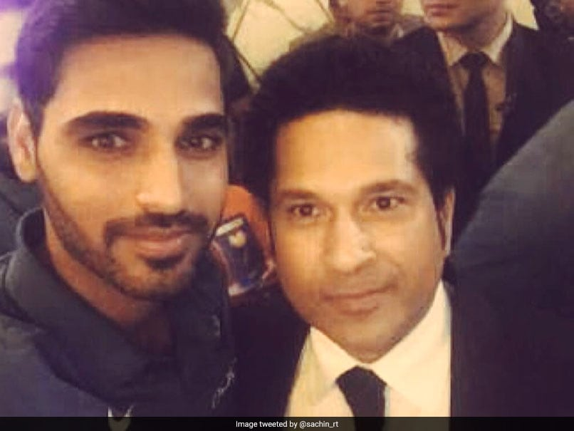 Was Left Blank When I First Saw Sachin Tendulkar, Admits Bhuvneshwar Kumar