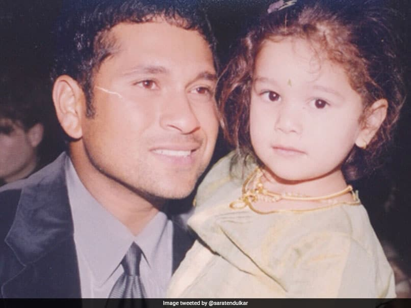 Sachin Tendulkar's Special Reply To Daughter Sara's Instagram Post – NDTV Sports