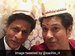 Sachin Tendulkar, Shah Rukh Khan In Tandem. See Pic