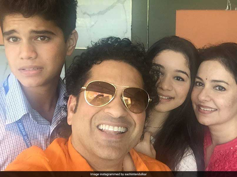 Sachin expresses happiness over son Arjun's first cricketing milestone