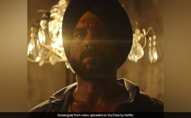 Sacred Games Star Saif Ali Khan' Would Have Produced Something Like This'