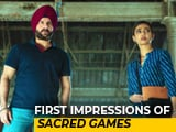Video : First Impressions Of Saif & Nawaz Starrer <i>Sacred Games</i>