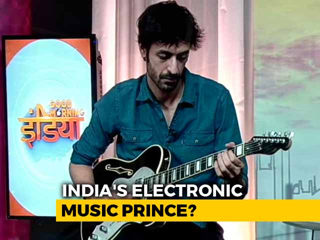 "Video : India's ""Prince Of Electronic Music"" In NDTV Studio To Show How He Does It All"