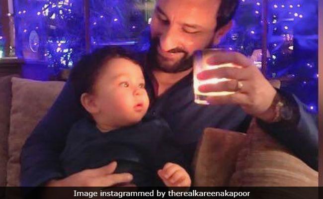 Kareena Kapoor And Saif Ali Khan's Son Taimur Learnt New Words Among Them Is 'Abba'
