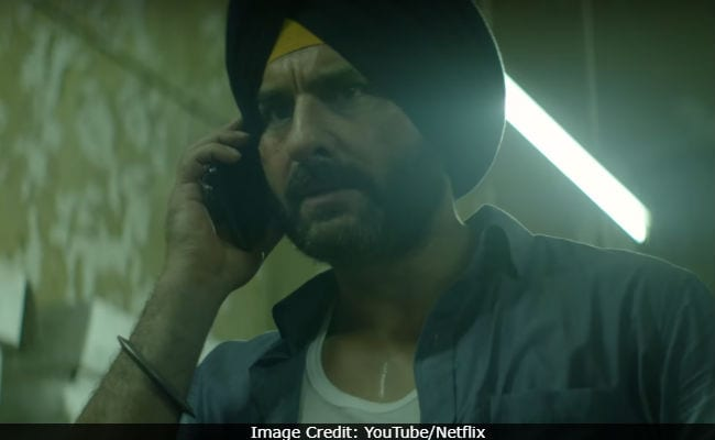 Netflix's Sacred Games Review: First Impressions - Toned-Down Saif Ali Khan Is Perfect