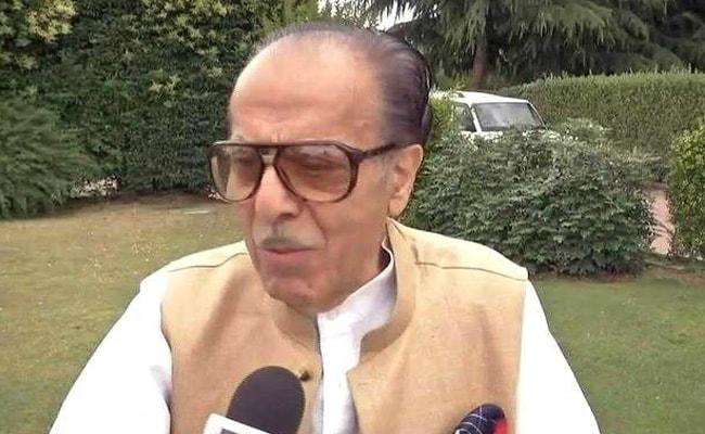 कांग्रेस नेता सैफुद्दीन सोज़ ने किया मुशर्रफ़ के कश्मीर की आजादी वाले बयान का समर्थन, फंसी पार्टी