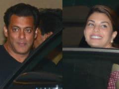 <i>Race 3</i> Co-Stars Salman Khan, Jacqueline Fernandez Race To The Party After Trailer Launch