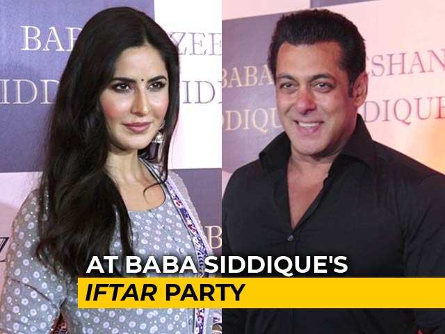 Salman, Katrina & Other Stars At Baba Siddique's Iftar Party