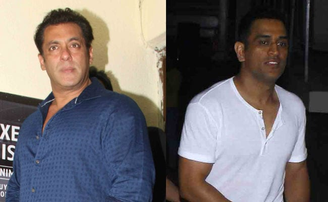 Race 3: Dhoni And Sakshi Were Salman Khan's Special Guests At Screening