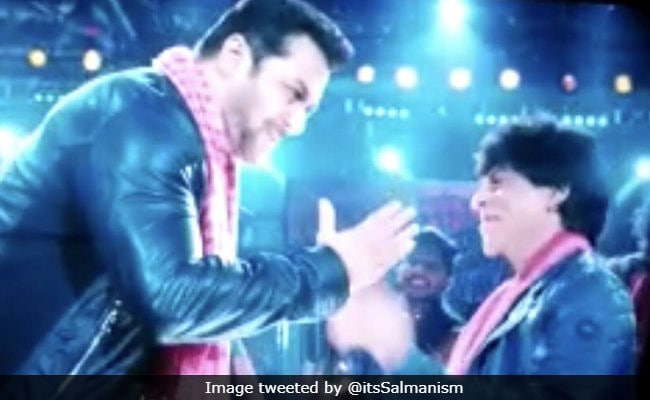 Zero Teaser Shah Rukh Khan And Salman Khans Cute Stills Take Over