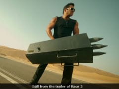 Salman Khan's <i>Race 3</i> Trivia: Climax Was Filmed In Half Time, Destroyed 15 Top Cars