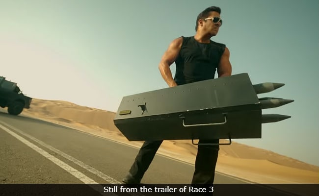 Salman Khan's Race 3 Trivia: Climax Was Filmed In Half Time, Destroyed 15 Top Cars