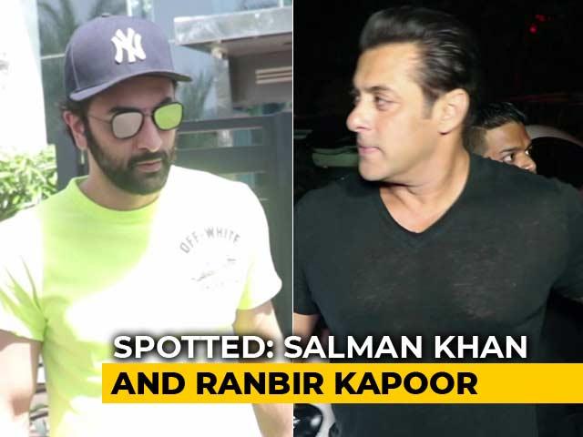 Video : Celeb Spotting: Salman, Ranbir, Varun & Others