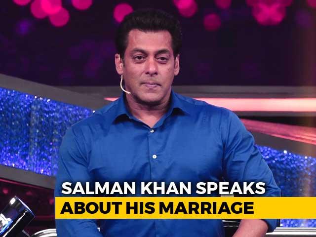 Video : <i>10 Ka Dum 3</i>: Salman Khan Wants 10% Of People To Want Him To Get Married
