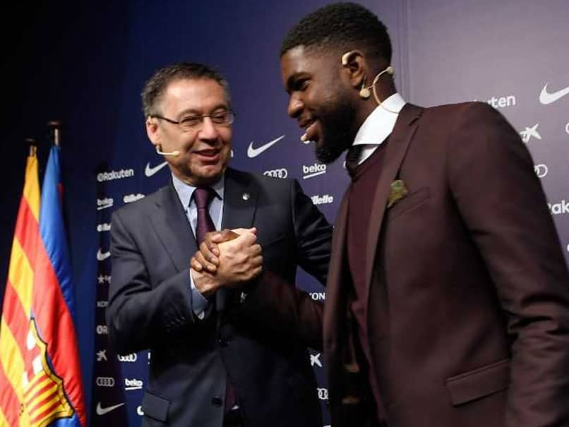 Barcelona Extend Samuel Umtitis Contract Until 2023