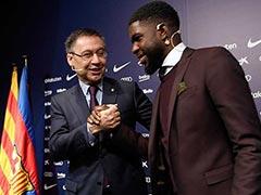 Barcelona Extend Samuel Umtiti