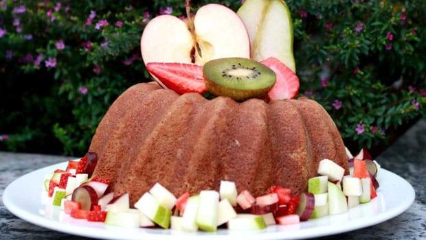 Sangria Soaked Cake