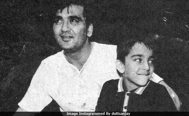 Sanjay Dutt's Pic With Dad Sunil Dutt Is Here To Make You Smile