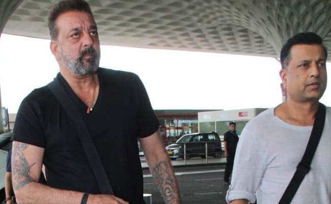 Sanjay Dutt Spotted With Friend Who Inspired Vicky Kaushal's 'Kamli' In Sanju