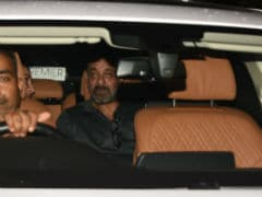 <i>Sanju</i> Screening: Reel And Real Sanjay Dutt Converge To Watch The Film