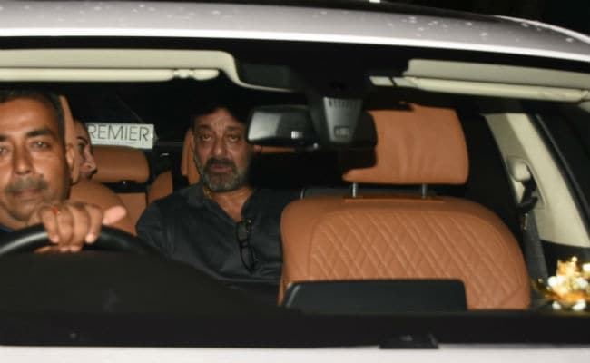 Sanju Screening: Reel And Real Sanjay Dutt Converge To Watch The Film