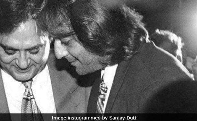 Sanjay Dutt's Throwback Post On Father Sunil Dutt's Death Anniversary Is Heartbreaking