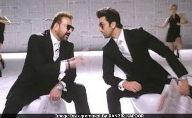 Sanju: This Pic Of Ranbir Kapoor And Sanjay Dutt From Film Is Viral