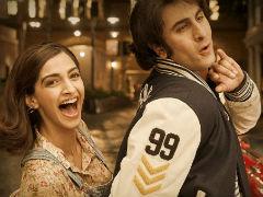 <I>Sanju</i> New Poster: Sonam And Ranbir Kapoor Bring Alive Sanjay Dutt's 'Crazy Love Life'